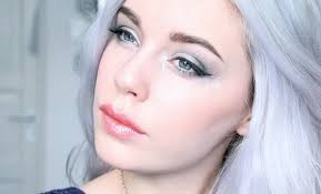 jack frost inspired makeup tutorial youtube