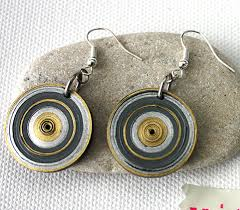 handmade paper earrings handmade black paper earrings