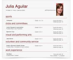 College Admission Resume Template College Application Resume Templates High Resume Examples