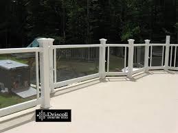 Fiberglass Handrail Brick Fiberglass Decks Driscolldecksdriscolldecks