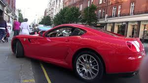 velvet car ferrari 599 owner jealous of velvet wrapped ferrari 599 youtube