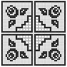 filet crochet pattern software tutorial punto de crochet