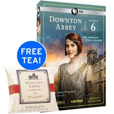 downton season 6 dvd uk edition with free downton