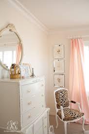 pink and gold u0027s bedroom makeover randi garrett design