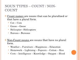 bureau plural parts of speech nouns and prepositions