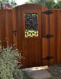 Gate For Backyard Fence 137 Best Cool Wrought Iron Wood Gates And Fences Images On