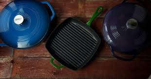 cast iron enamel cookware why choose enameled cast iron cookware nourished kitchen