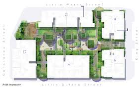 roof garden floor plan apartment building landscape google search