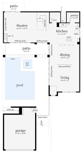 Housing Floor Plans Modern 81 Best Courtyard And Patio Plans Images On Pinterest Patio