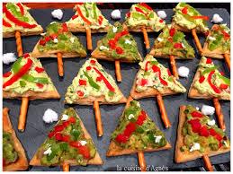 recettes cuisine noel lacuisinedagnes com sapins de noel au guacamole la cuisine d agnès