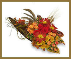 cornucopia arrangements get everything out of the fall holidays with seasonal flower