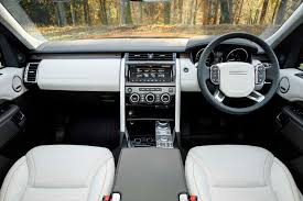 old land rover discovery interior 2017 land rover discovery first drive review motor trend