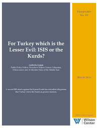 It Is Being Reported That Turkish Military Forces Have by For Turkey Which Is The Lesser Evil Isis Or The Kurds Wilson