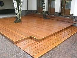 Outdoor Flooring Ideas Outdoor Wood Flooring Ideas Innovative Outdoor Wood Flooring Home