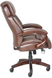 Leather Executive Desk Chair Lazboy Office Chairs