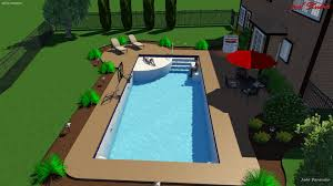 new great lakes in ground fiberglass pool by san juan new great lakes in ground fiberglass pool by san juan