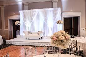 wedding backdrop simple an affair a marriage of decor and stunning venue