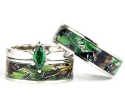 Wedding Ring Sets For Him And Her by Camo Wedding Ring Set For Him And Her Titanium Stainless