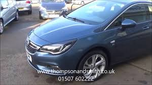 opel blue sold 2016 vauxhall astra 1 6 cdti sri in deep sky blue for sale in