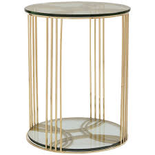 caracole everly end tables u0026 accent tables round side table