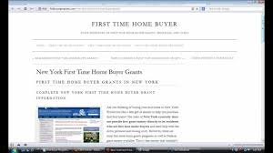 new home buyers grant new york time home buyer grants