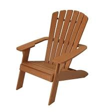 Patio Wooden Chairs Lifetime Simulated Wood Patio Adirondack Chair 60064 The Home Depot