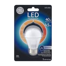Led Night Light Bulb by Ge Led A15 Long Life Low Energy 40w Ceiling Fan Bulb 1 0 Ct