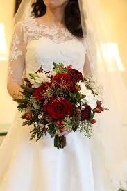 bouquets photos christmas theme bridal bouquet inside weddings