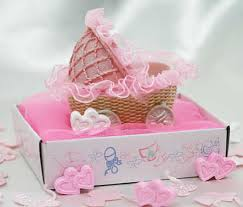baby girl shower favors baby girl carriage basket baby shower favor it s a girl theme