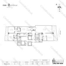 chateau floor plans fendi chateau residences unit 903 condo for sale in surfside