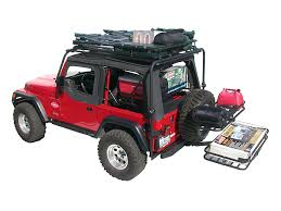 cargo rack for jeep olympic 4x4 wrangler dave s rack cargo carrier sunshade textured