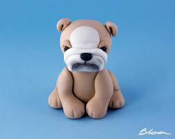dog cake topper bulldog cake topper dog cake topper fondant bulldog