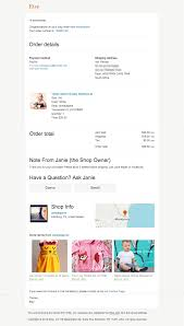 Order Confirmation Template by Best Practices For Optimizing Order Confirmation Emails