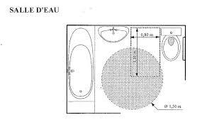 norme handicapé chambre norme handicape salle de bain dimension italienne pour