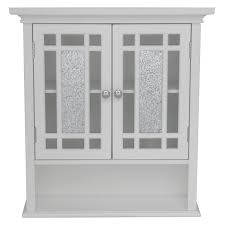 Valje Wall Cabinet Larch White by White Wooden Vanity Decor With Beadboard And Oval Wall Mirror
