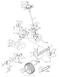 troy bilt 13ax60kh211 super bronco 2008 parts diagram for