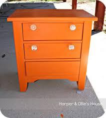 Retro Nightstand Nightstand Splendid Beautiful Nightstand Modern Orange Mid