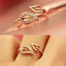 girls rings style images Euramerica style steam drill out lover rings for women well party jpg