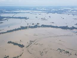 Brahmaputra River On Map India U2013 Third Wave Of Flooding Hits Assam 2 Million Affected