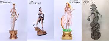 greek goddess web exclusive version of hera athena aphrodite and
