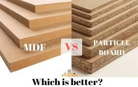 is mdf better than solid wood medium density fiberboard mdf vs particle board start