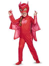 halloween mask costume pj masks owlette classic toddler costume walmart com