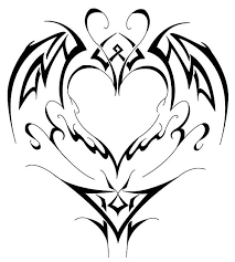 55 heart tattoos love and sacred heart tattoo designs clip art