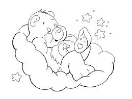 care bear coloring pages bebo pandco