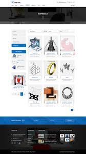 3d printing 3d print u0026 scan technology template by happytheme