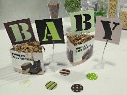 camouflage baby shower camo baby shower table decorations theme set camouflage