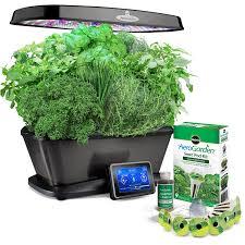 miracle gro aerogarden elite w gourmet herb seed pod kit