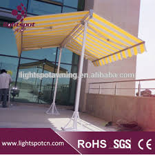Homemade Retractable Awning Aluminum Diy Caravan Double Side Standing Retractable Awnings