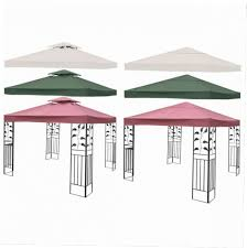 Patio Gazebo Replacement Covers by 10x10 Gazebo Canopy Replacement Covers Gazebo Ideas