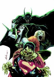 Halloween Monster Mash by Justice League 35 Variant Cover By Rafael Albuquerque Justice